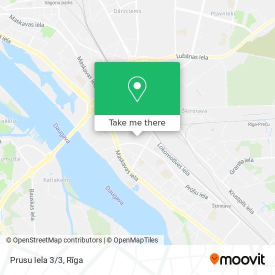 Prusu Iela 3/3 map