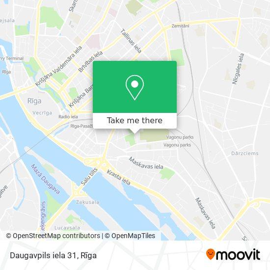 Daugavpils iela 31 map
