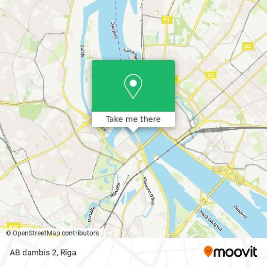 AB dambis 2 map