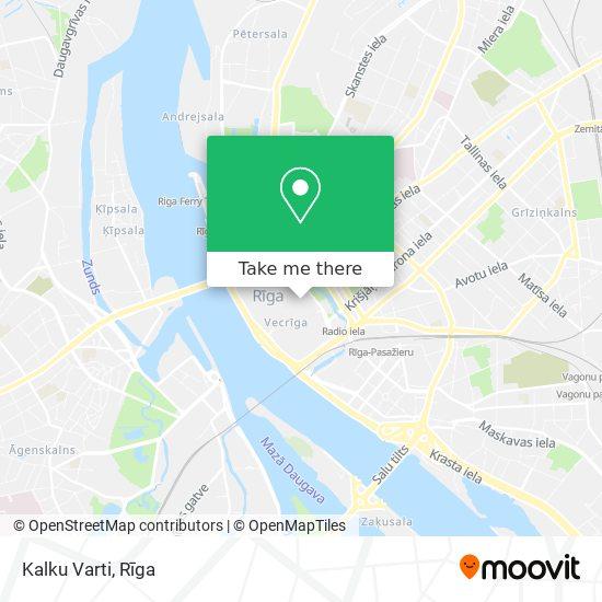 Kalku Varti map