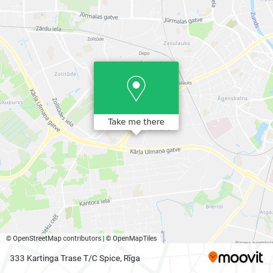 333 Kartinga Trase T/C Spice map