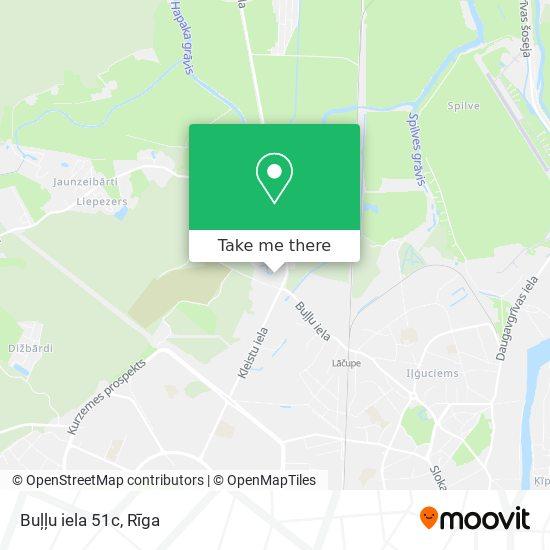 Buļļu iela 51c map