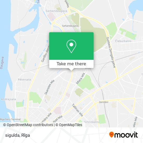 sigulda map