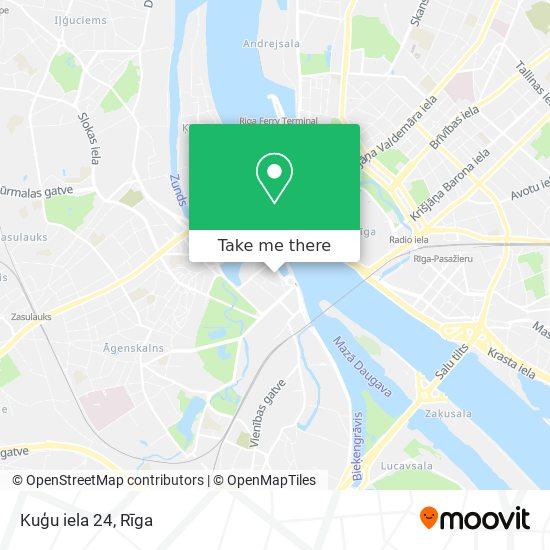 Kuģu iela 24 map