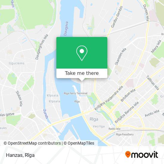 Hanzas map