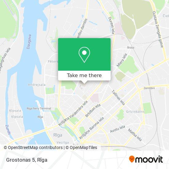 Grostonas 5 map