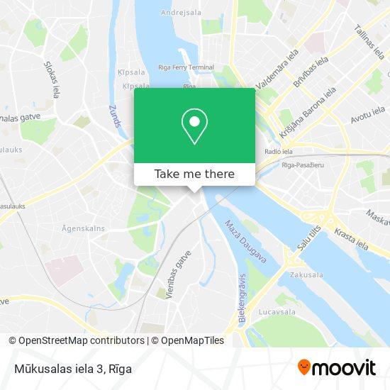 Mūkusalas iela 3 map