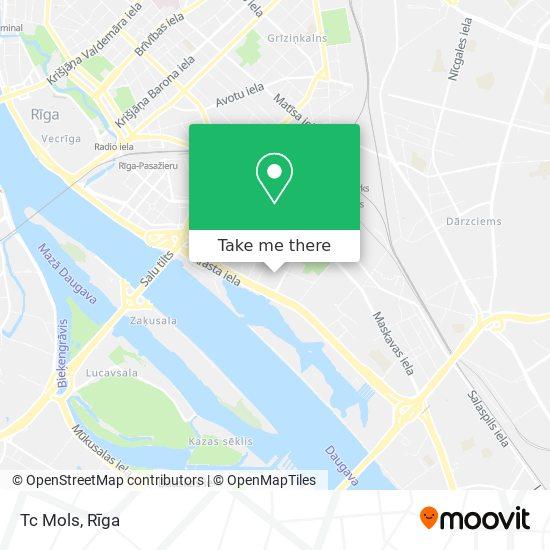 Tc Mols map