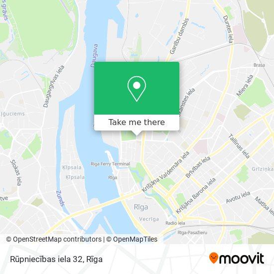Rūpniecības iela 32 map