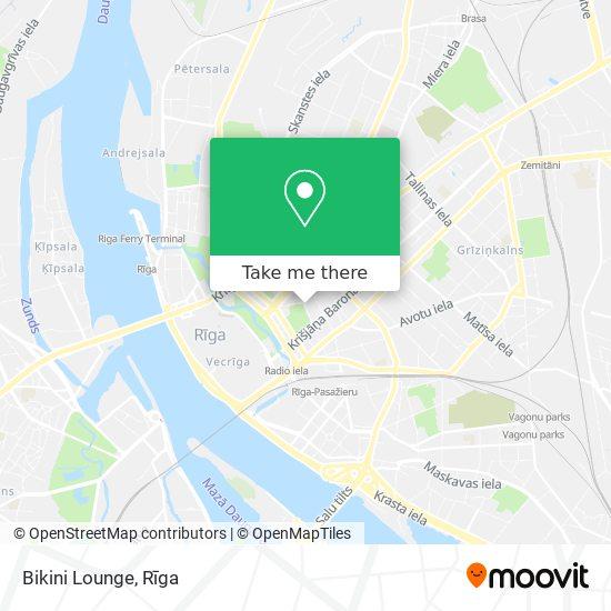 Bikini Lounge map