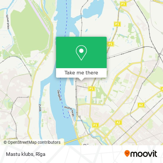 Mastu klubs map
