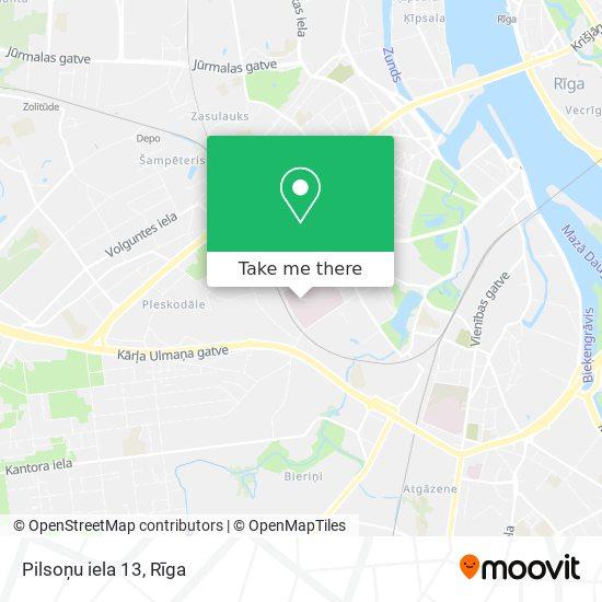 Pilsoņu iela 13 map