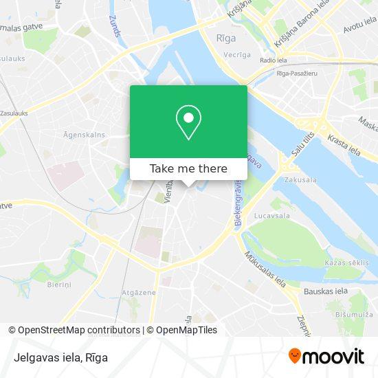 Jelgavas iela map
