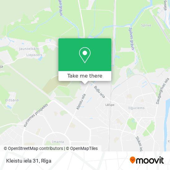 Kleistu iela 31 map