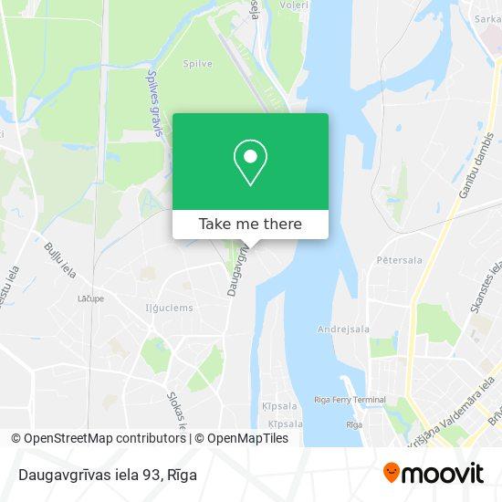 Daugavgrīvas iela 93 map