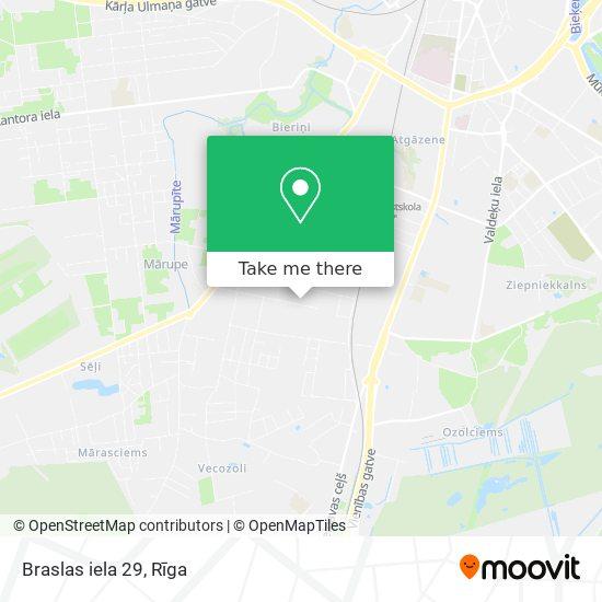 Braslas iela 29 map