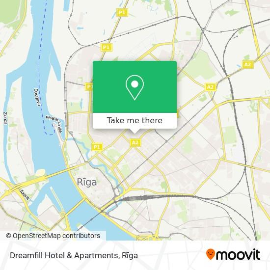 Dreamfill Hotel & Apartments map