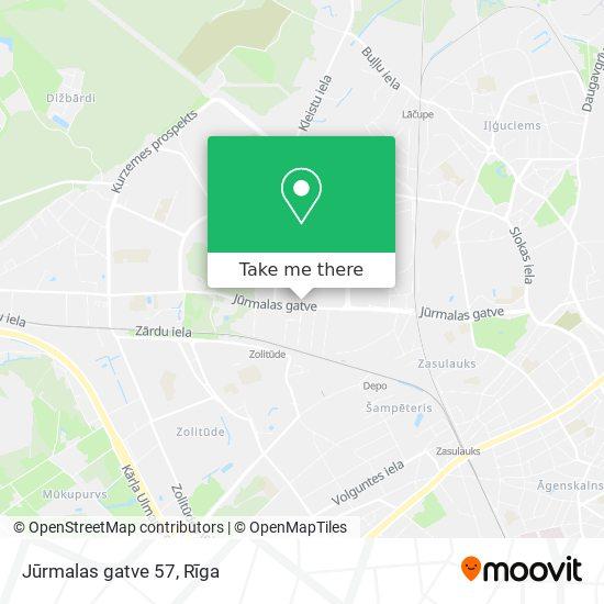 Jūrmalas gatve 57 map