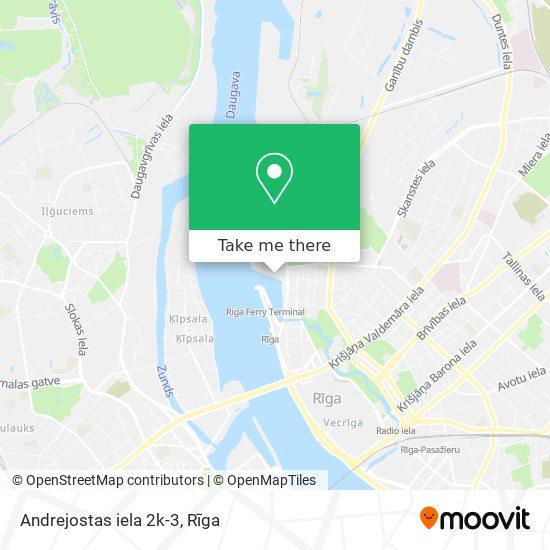 Andrejostas iela 2k-3 map