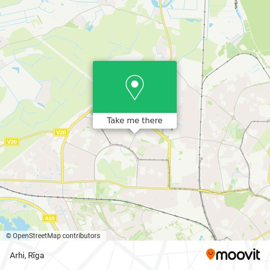 Arhi map