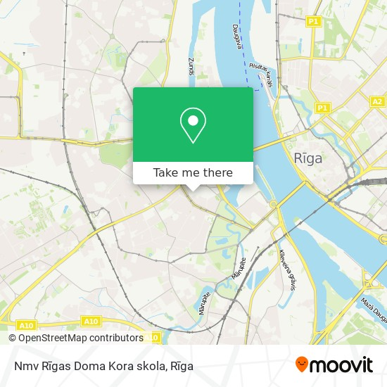 Nmv Rīgas Doma Kora skola map