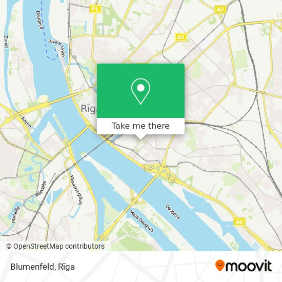 Blumenfeld map