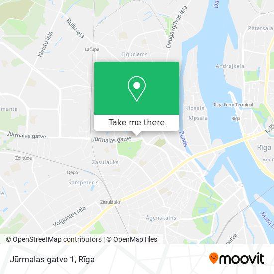 Jūrmalas gatve 1 map