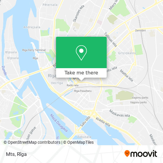 Mts map