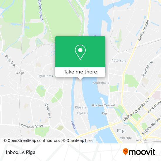 Inbox.Lv map