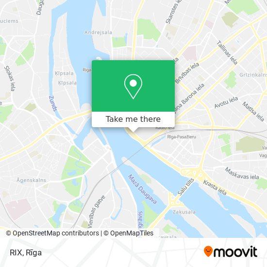 RIX map