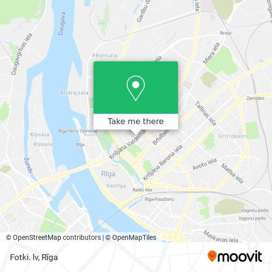 Fotki. lv map