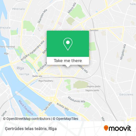 Ģertrūdes Ielas teātris map
