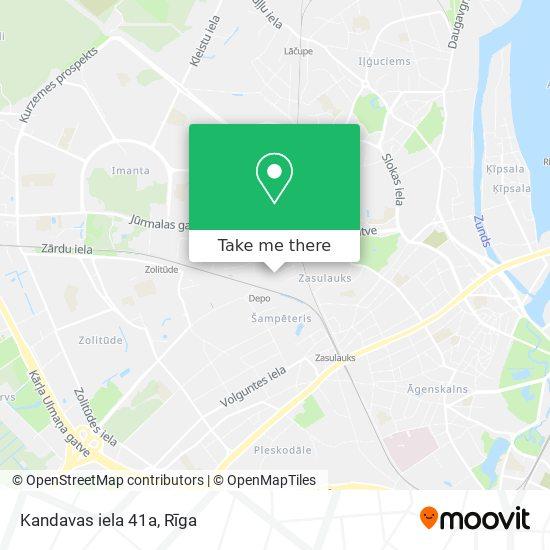 Kandavas iela 41a map