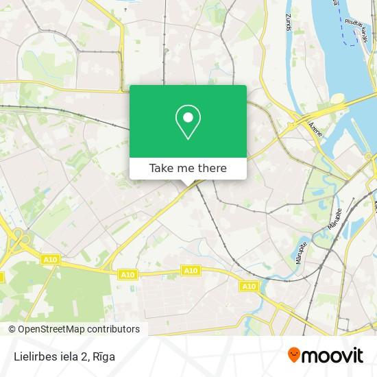 Lielirbes iela 2 map
