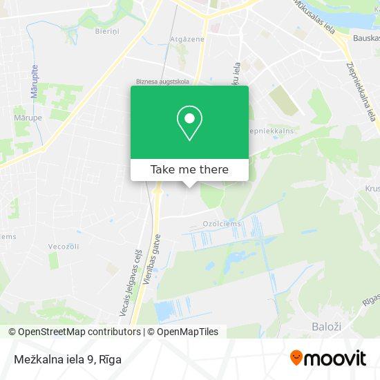 Mežkalna iela 9 map