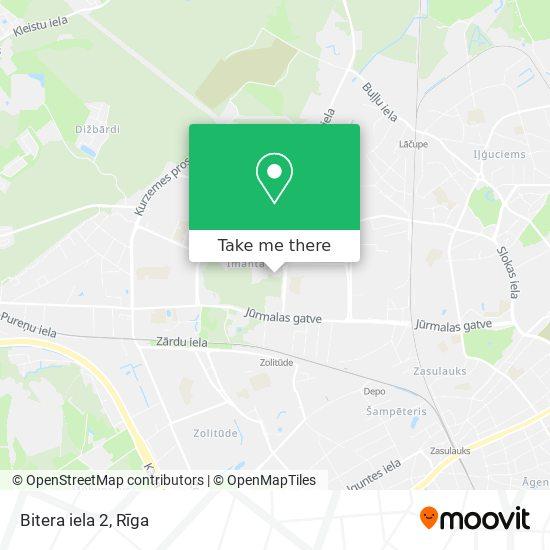 Bitera iela 2 map