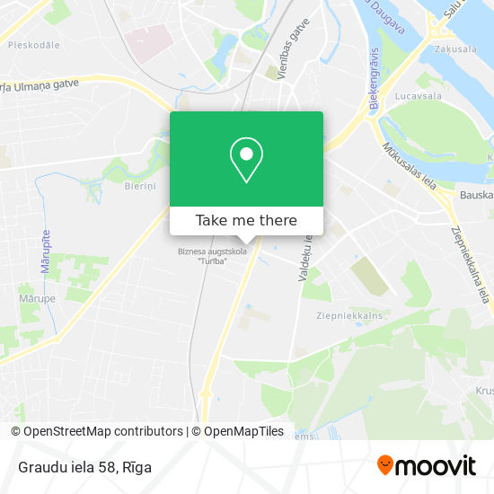 Graudu iela 58 map