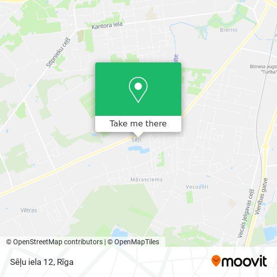 Sēļu iela 12 map