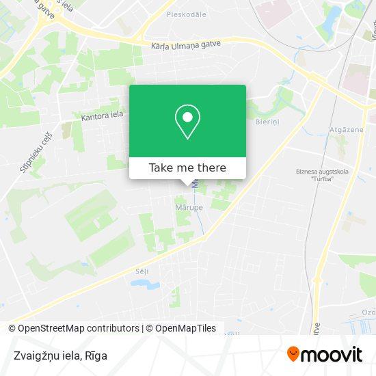 Zvaigžņu iela map
