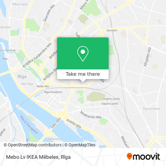 Mebo.Lv IKEA Mēbeles map