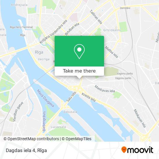 Dagdas iela 4 map