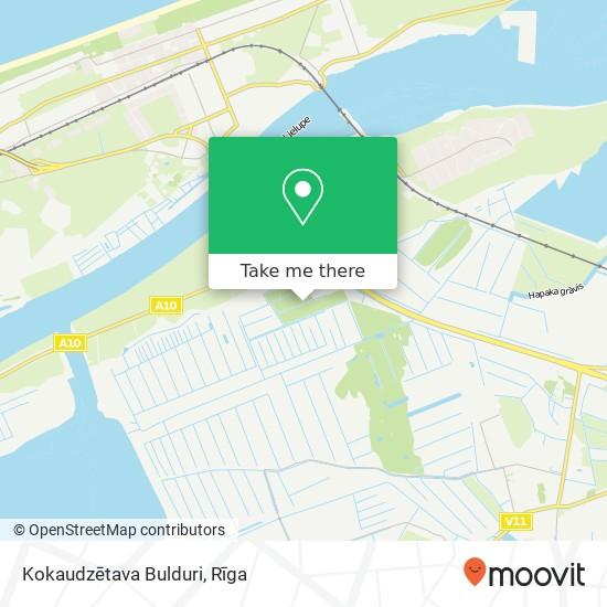 Kokaudzētava Bulduri map