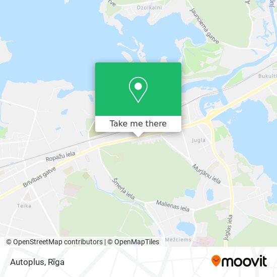 Autoplus map