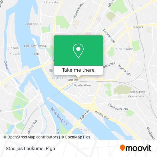 Stacijas Laukums map