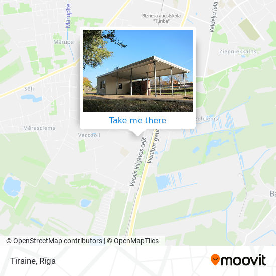 Tīraine map