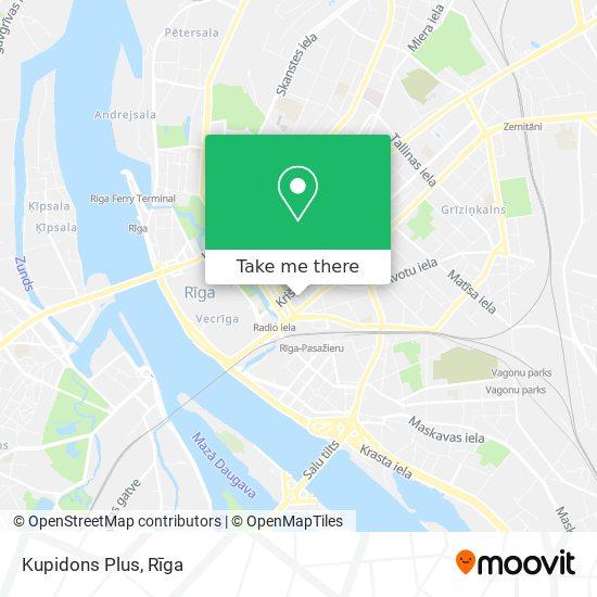 Kupidons Plus map