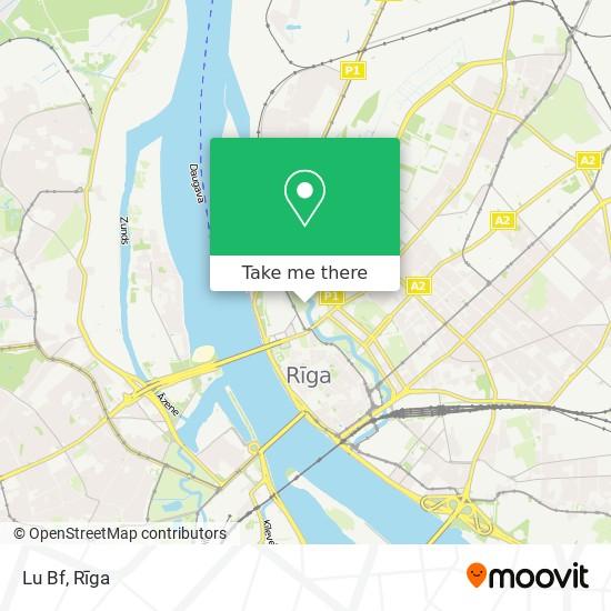Lu Bf map