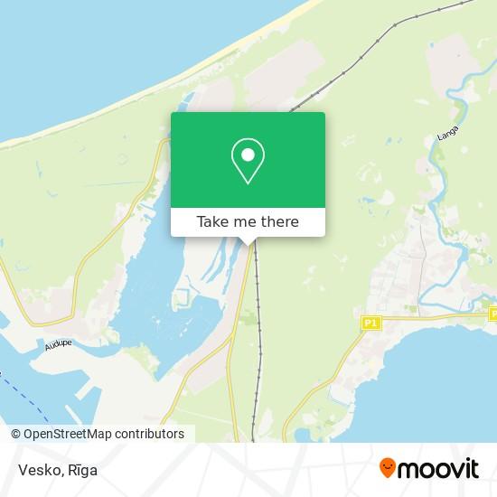 Vesko map