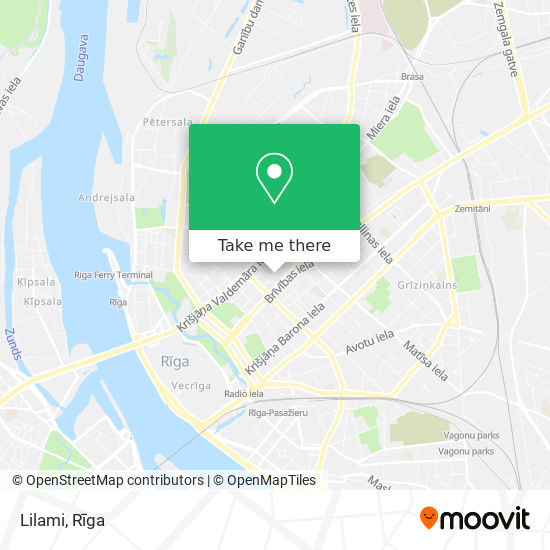 Lilami map