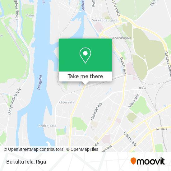 Bukultu Iela map